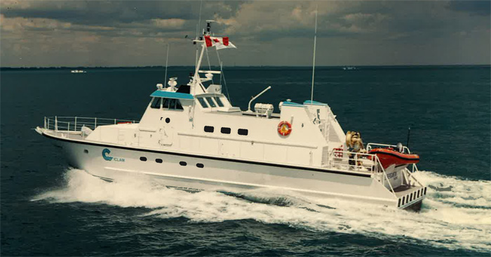 Custom Built Venezuelan Research Vessel Hike Metal Products