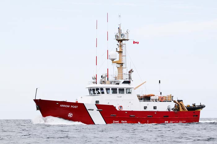 CCGS Arrow Post Fisheries and Oceans Canada Fisheries Patrol / SAR Vessel