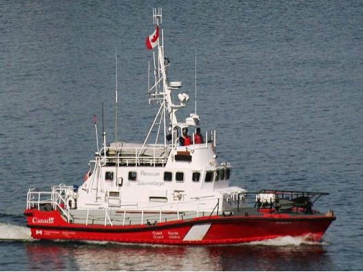 Custom Manufactured Search and Rescue Boats CCGS SAR Sambro Hike Metal Products