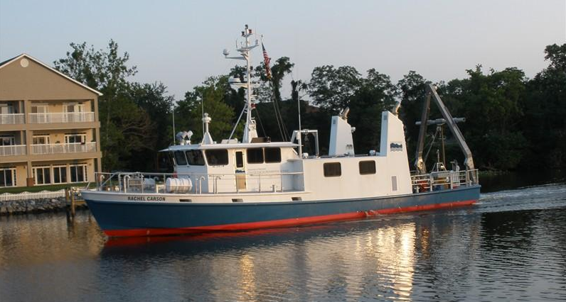 Custom Built Research Ship by Hike Metal Products Ontario, Canada