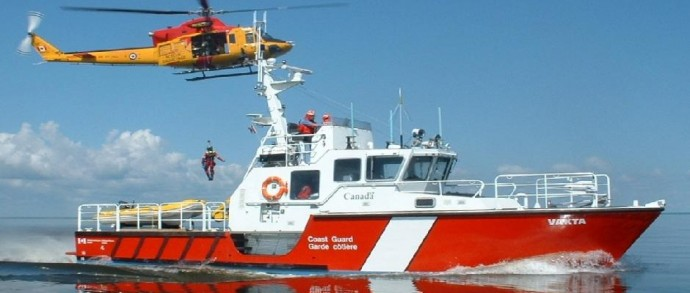 Custom Manufactured Search and Rescue Boats, CCGS VAKTA SAR 123