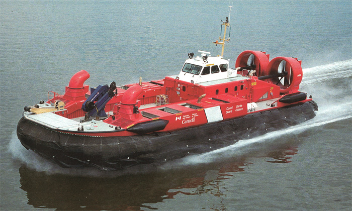 Custom Built Coast Guard SAR Hovercraft By Hike Metal Products