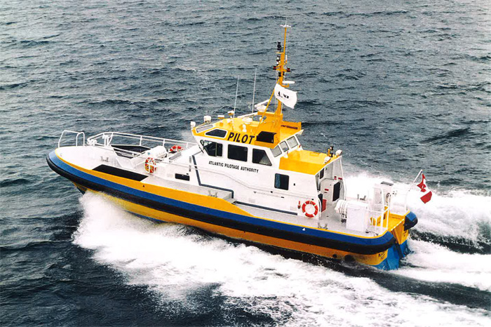 Atlantic Pilotage Authority Boat