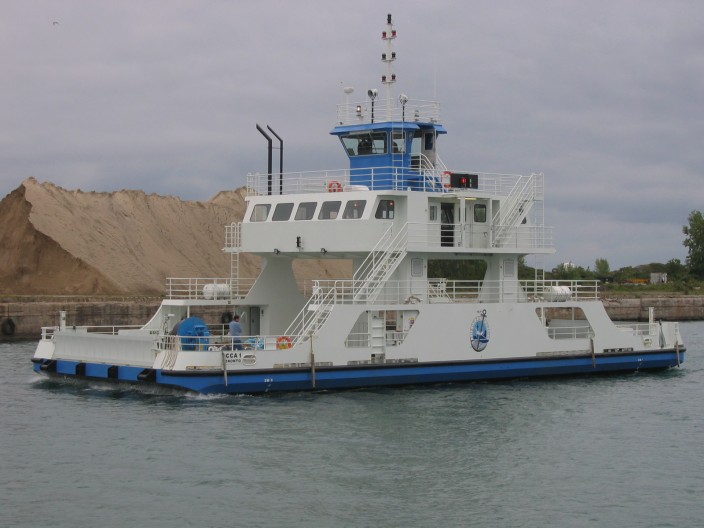 Hike Metal Custom manufactured Vehicle Transport Ferry Toronto Port Authority