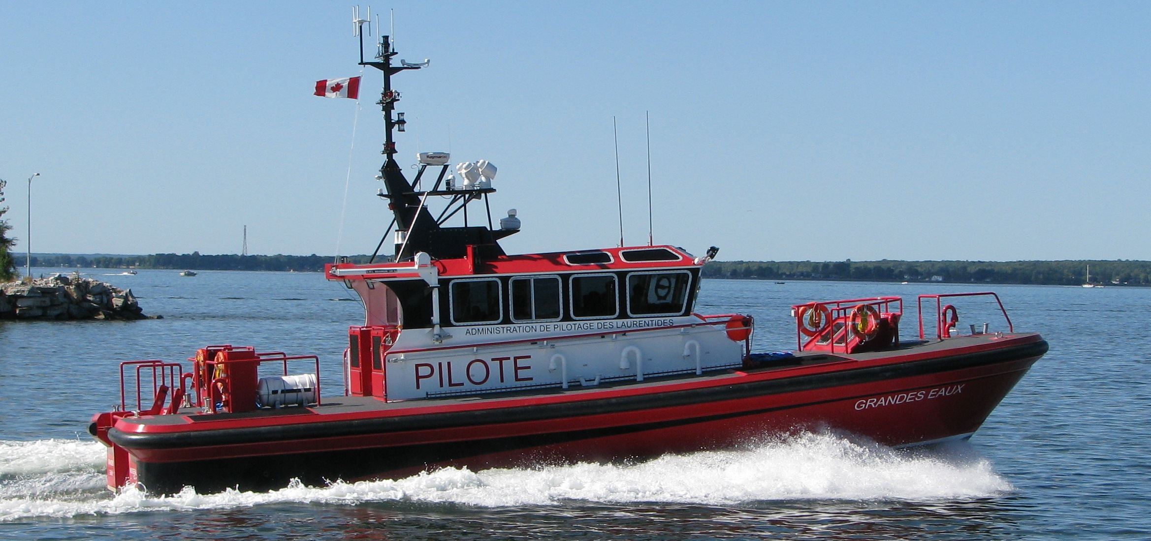 custom pilotboats and manufacturer of heavy duty aluminum hull